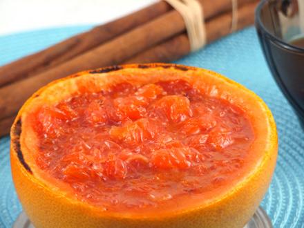 grapefruit caramelizat