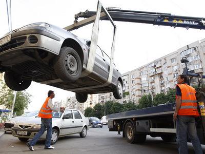 Autoritatile n-au spus ce se intampla, totusi, cu masinile parcate pe banda 1