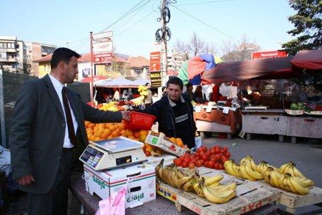 Pietele volante revin in patru locatii din Bucuresti