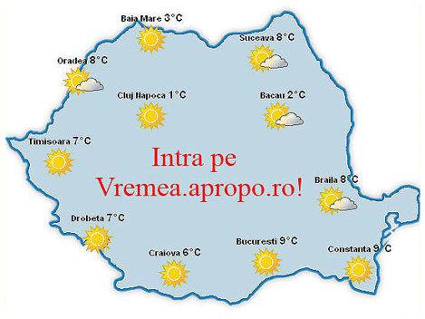 Click pe Vremea Apropo.ro, pentru o prognoza meteo completa