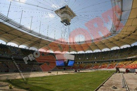 Stadionul National Arena trebuia inaugurat cu amicalul Romania-Argentina