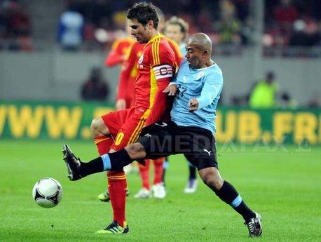 România - Uruguay, scor 1-1, într-un meci amical