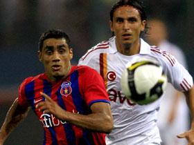 Banel Nicolita a nimerit poarta si a calificat  Steaua in UCL