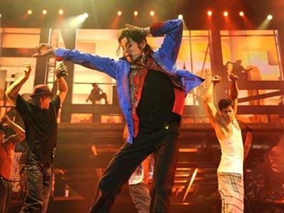 Michael Jackson, plin de viata la ultima repetitie (Poze)
