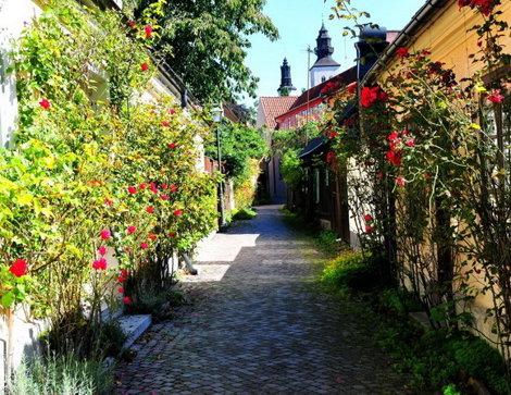Fiskargrand,   Visby,  Suedia