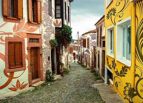 Cunda                                                           Island,                                                           Turcia