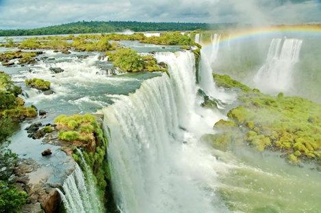 Cascadele Iguazu, Brazilia