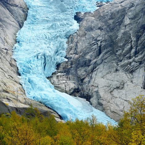 Briksdalsbreen Glacier, Norvegia