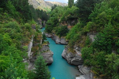 Râul Shotover, Noua Zeelandă