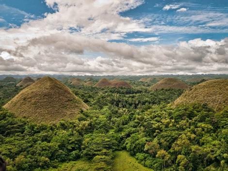 Chocolate Hills, Filipine