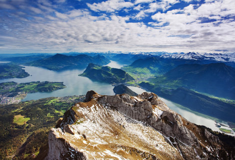 Alpii elveţieni, Elveţia