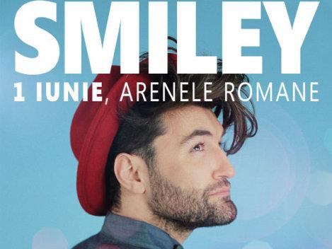 Smiley cântă, pe 1 iunie, la Arenele Romane din Bucureşti