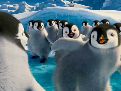 "Brad Pitt, Robin Williams si Pink canta ""Dragostea din tei"", in ""Happy Feet 2 3D"" (Poze)"