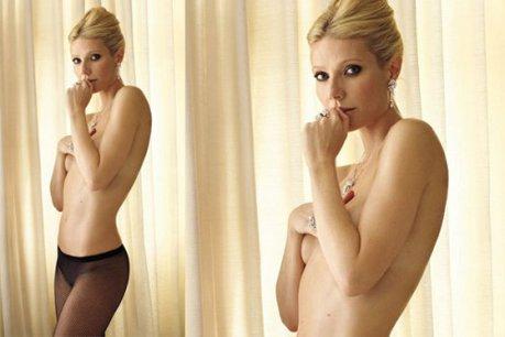 Gwyneth Paltrow, nud pentru Vnity Fair