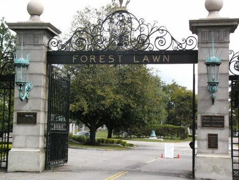 cimitirul forest lawn