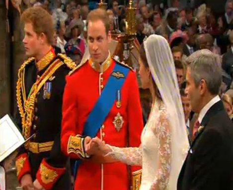 William si Kate la altar