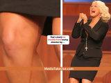 "Cum si-a ""patat"" imaginea Christina Aguilera, la inmormantarea Ettei James"