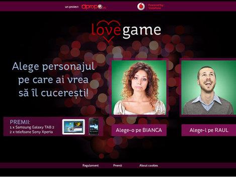 Apropo.ro lansează jocul LOVE GAME