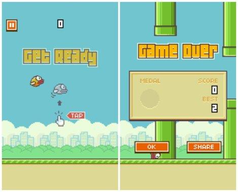 Flappy Bird mai poate fi jucat doar aici!