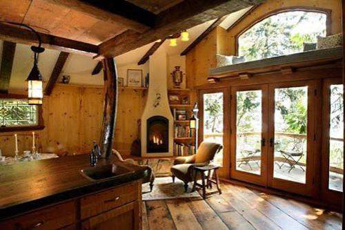 interior casa in copac