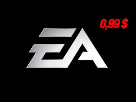 Jocuri la 1 dolar, marca EA Games, pe Apple Store