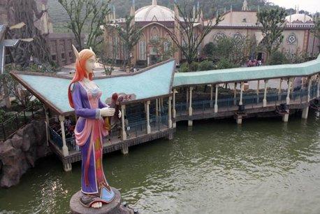 O elfita sta pe lac