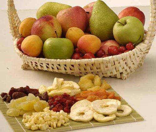 fructe proaspete si uscate