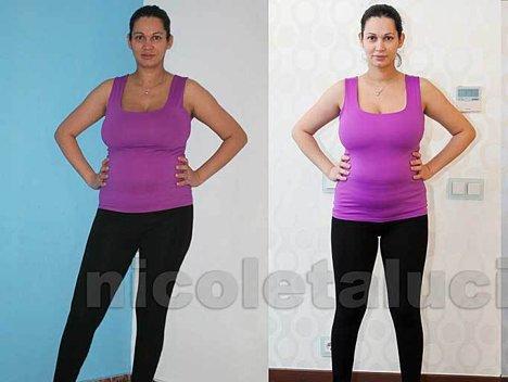 Afla cum a slabit Nicoleta Luciu 10 kilograme in 23 de zile