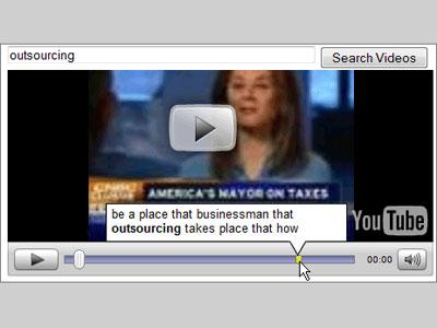 Recunoasterea vocala, in probe la YouTube