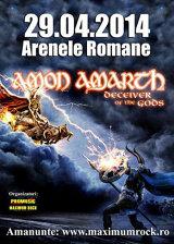 Concert Amon Amarth, la Arenele Romane