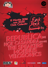 Concert Republica, în club Colectiv