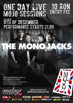 OneDay Live Mojo Sessions continua cu OCS si The Mono Jacks