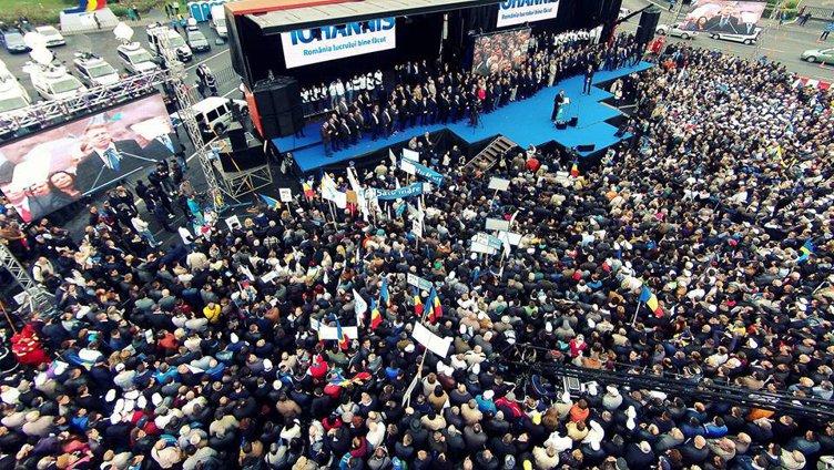 Discursul susţinut în cadrul mitingului ACL pentru lansarea candidaturii la Preşedinţia României