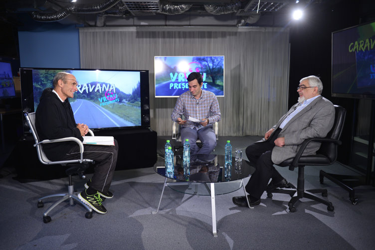 Andrei Pleşu şi Cristian Tudor Popescu, într-o dezbatere-eveniment despre viitorul României