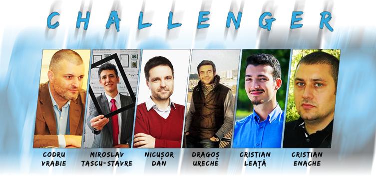 6 CHALLENGERI PENTRU ROMÂNIA