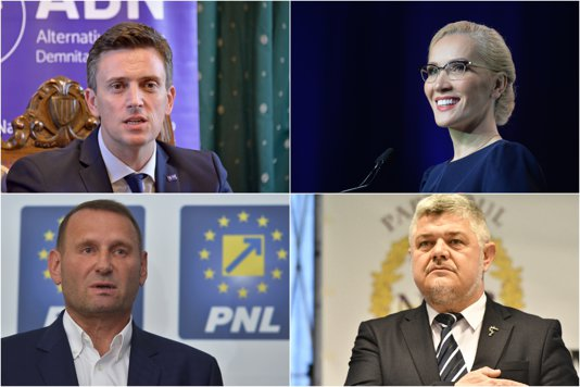 Lista candidaţilor care nu sunt cotaţi cu şanse reale de a câştiga cursa prezidenţială