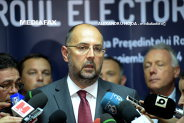 Kelemen, primul pe buletinul de vot la prezidenţiale, urmat de Iohannis, Diaconescu şi Ponta