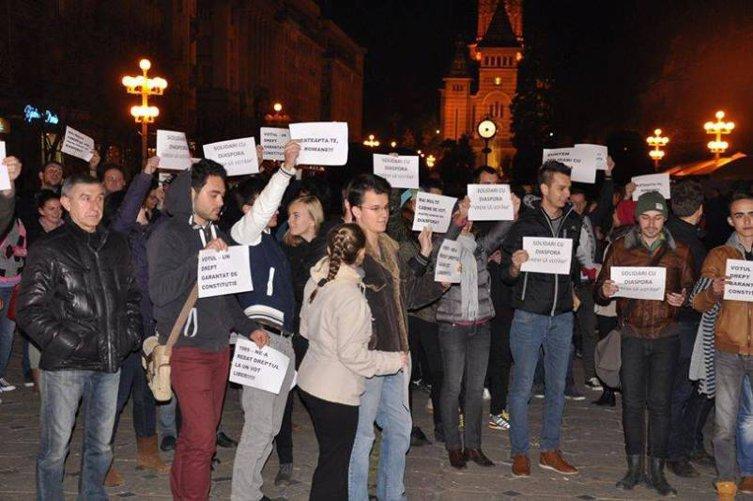 Românii vor să iasă în stradă. HARTA PROTESTELOR pentru un vot corect în diaspora