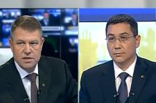 """Klaus Iohannis: """"Aţi organizat alegerile din diaspora într-un mod execrabil! Fiecare cetăţean are dreptul la vot"""". Victor Ponta: """"E o lozincă"""""""