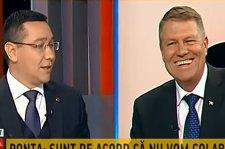 """Klaus Iohannis, mesaj pentru Victor Ponta: """"Decât să fiu mârlan, mai bine pierd"""""""