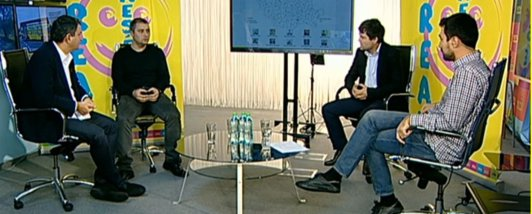 ALEGERI PREZIDENŢIALE 2014. Ediţie specială GÂNDUL LIVE. Claudiu Pândaru şi Clarice Dinu comentează rezultatele votului