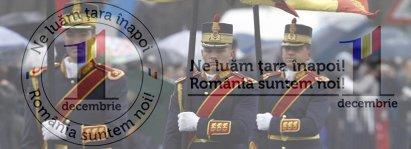 1 DECEMBRIE. Ne luăm ţara înapoi! România suntem noi! Parada militară din Piaţa Constituţiei - Reluare
