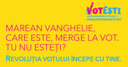 Marean Vanghelie, care este, merge la vot! Tu nu esteţi?