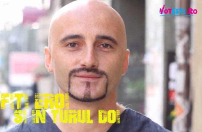 Călin Goia susţine VOTEŞTI. Fiţi eroi în turul doi!