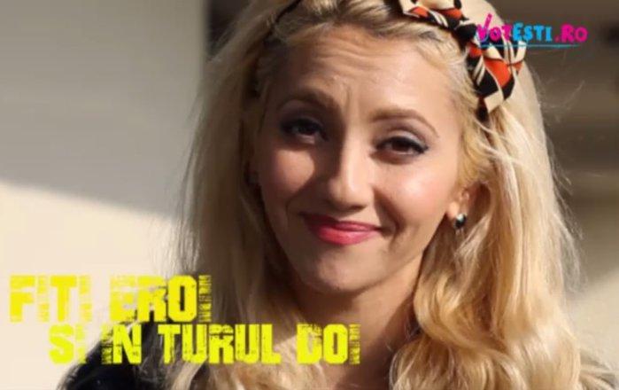 Simona Nae susţine VOTEŞTI: Mulţi români au stat ore în şir la cozi şi nu au reuşit să voteze. Nu-i dezamăgi în turul doi!