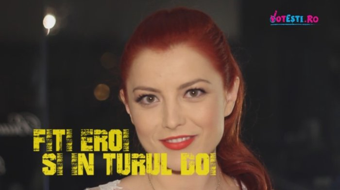 Elena Gheorghe susţine VOTEŞTI. Veniţi la vot pe 16 noiembrie pentru viitorul nostru şi al copiilor noştri