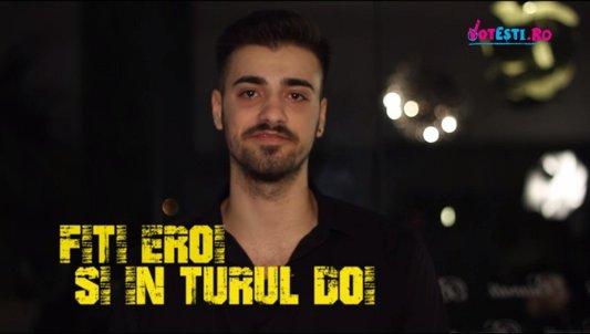 """Liviu Teodorescu susţine VOTEŞTI. """"E de datoria noastră să ne decidem singuri soarta"""""""
