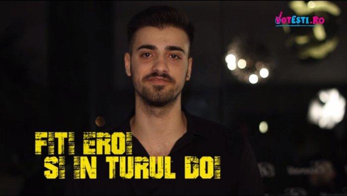 Liviu Teodorescu susţine VOTEŞTI.