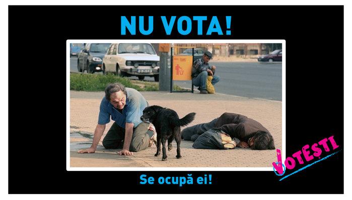 Nu vota! Se ocupă ei!