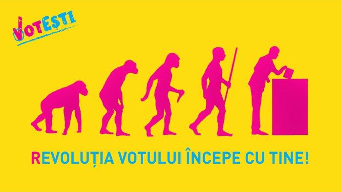 Revoluţia votului începe cu tine!